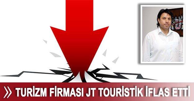 Turizm firması JT Touristik iflas etti