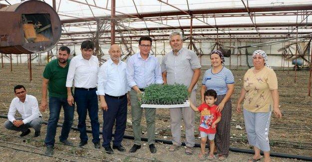 Uslu'dan üreticilere ziyaret