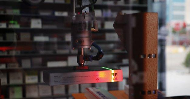14 bin ilaç, 'robot eczacı'ya emanet