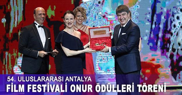 54. Uluslararası Antalya Film Festivali Onur Ödülleri Töreni