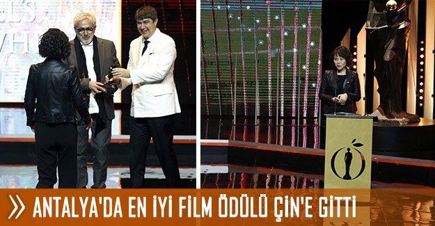 Antalya'da En İyi Film Ödülü Çin'e gitti