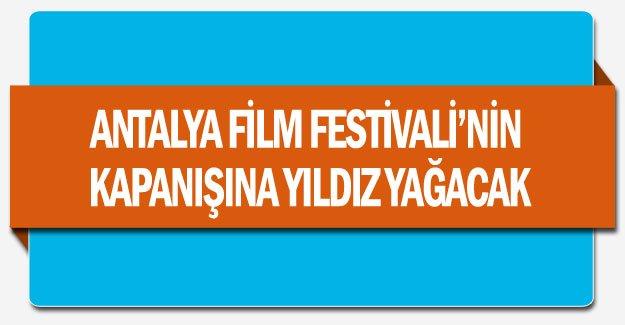 Antalya Film Festivali'nin kapanışına yıldız yağacak