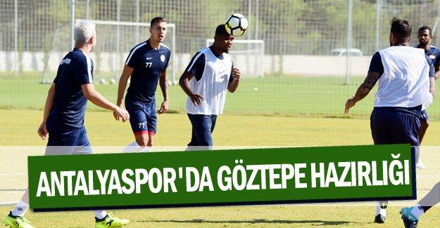 Antalyaspor'da Göztepe hazırlığı