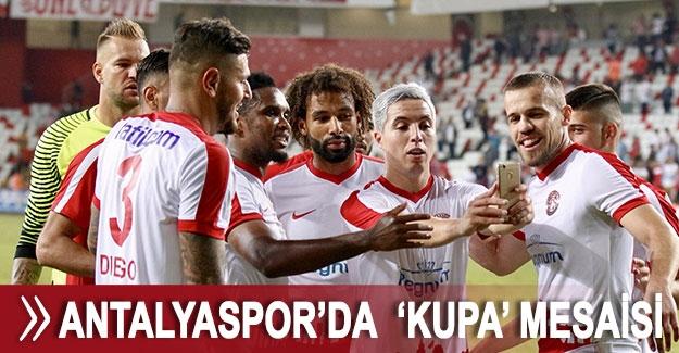Antalyaspor'da  'kupa' mesaisi