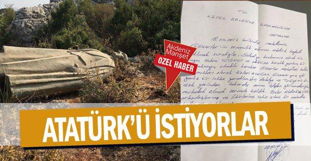 Atatürk'ü istiyorlar