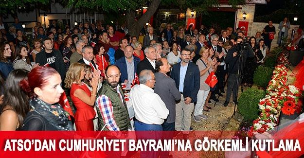 ATSO'dan Cumhuriyet Bayramı'na görkemli kutlama