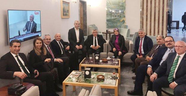 Başkan Çalık ve Kozan Ankara'da