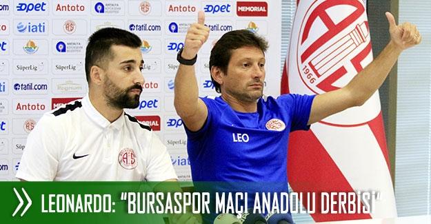 """""""Bursaspor maçı Anadolu derbisi"""""""