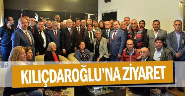 CHP Kemer heyetinden Kılıçdaroğlu'na ziyaret