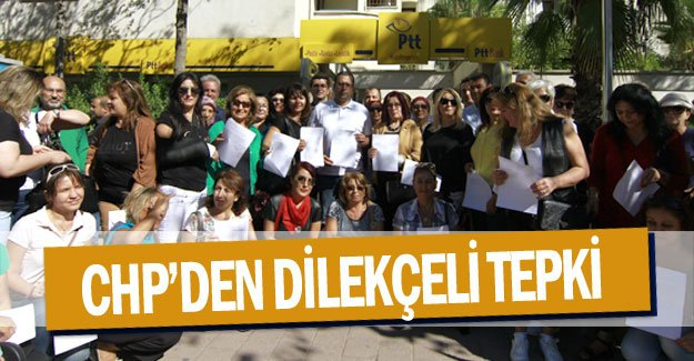 CHP'den dilekçeli tepki