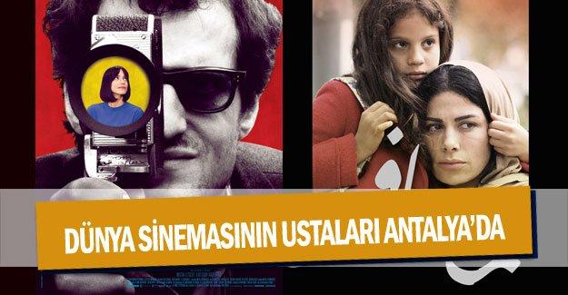Dünya sinemasının ustaları Antalya'da