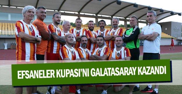 Efsaneler Kupası'nı Galatasaray kazandı