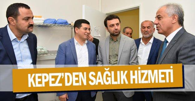 Kepez'den sağlık hizmeti