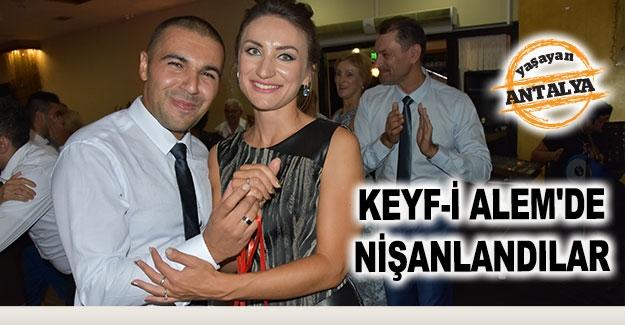 Keyf-i Alam'de nişanlandılar
