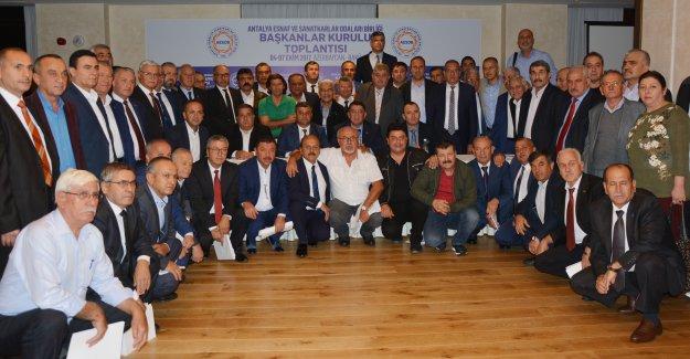 Oda başkanları Bakü'de buluştu