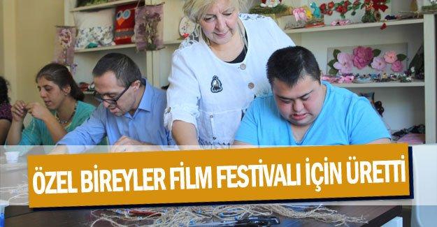 Özel bireyler Film Festivali için üretti