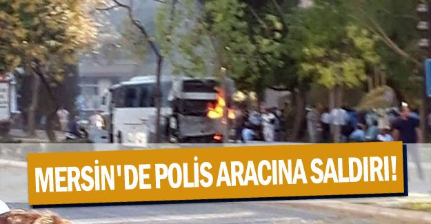 Son dakika! Mersin'de polis aracına saldırı! Çok sayıda polis memuru yaralı | (Mersin'de patlama)