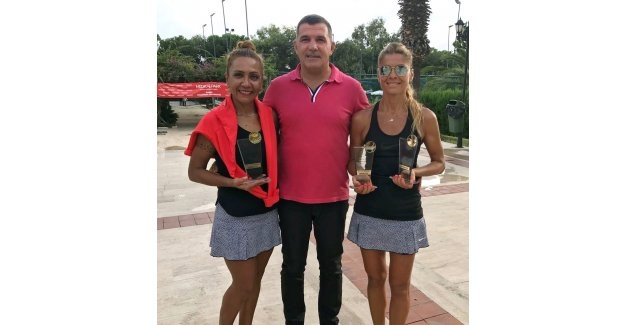 Teniste ödüller  sahibini buldu