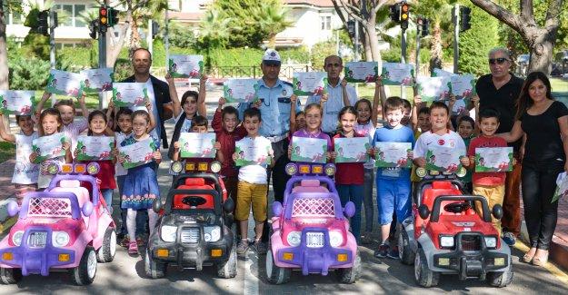 Trafik Parkı'nda eğitime devam