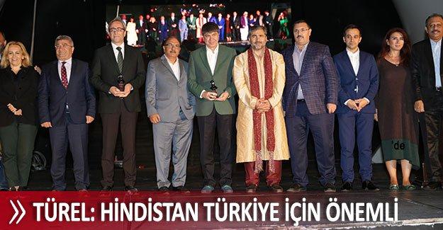 Türel: Hindistan Türkiye için önemli