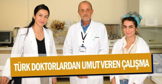 Türk doktorlardan umut veren çalışma