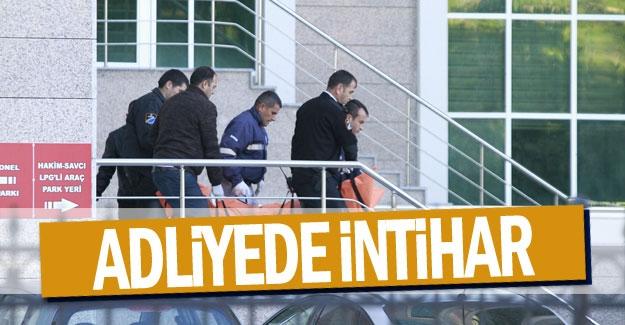 Antalya Adliyesi'nde intihar şoku