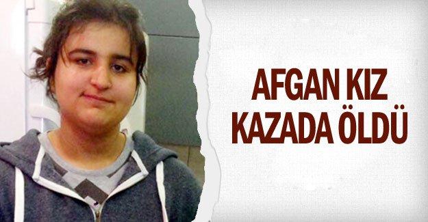 Afgan kız kazada öldü