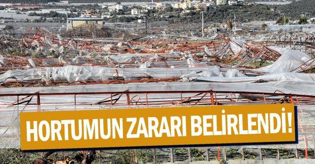 Antalya'da hortumun zararı belirlendi!