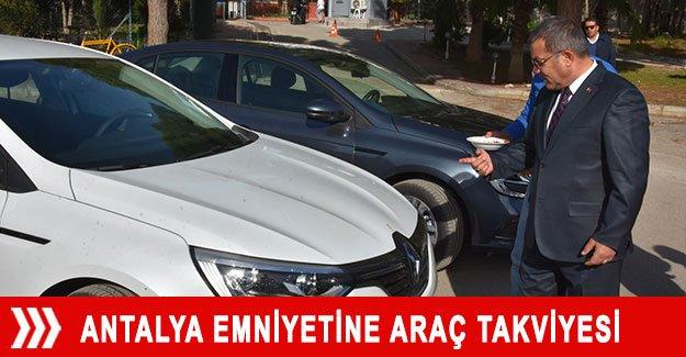 Antalya Emniyetine araç takviyesi