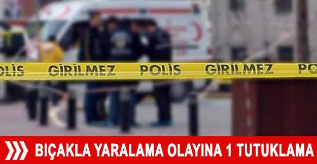 Antalya'daki bıçakla yaralama olayına 1 tutuklama