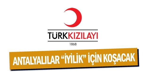 """Antalyalılar """"iyilik"""" için koşacak"""
