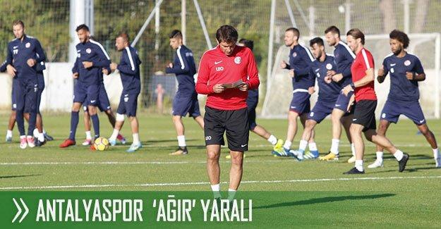 Antalyaspor  'ağır' yaralı