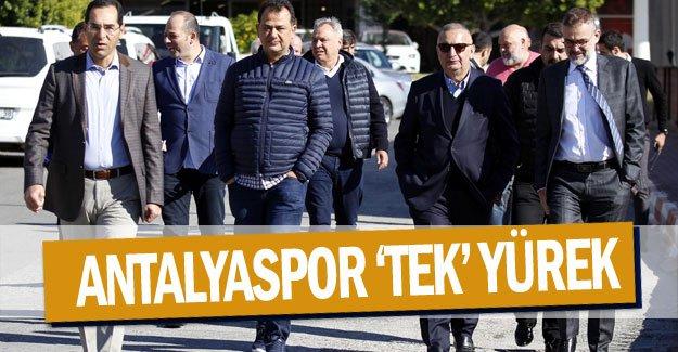 ANTALYASPOR 'TEK' YÜREK