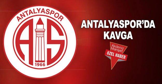 Antalyaspor'da kavga