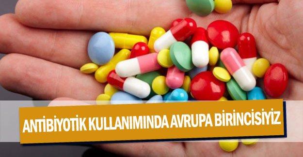 Antibiyotik kullanımında Avrupa birincisiyiz