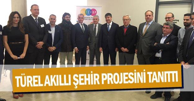 Başkan Türel akıllı şehir projesini tanıttı