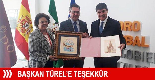 Başkan Türel'e teşekkür