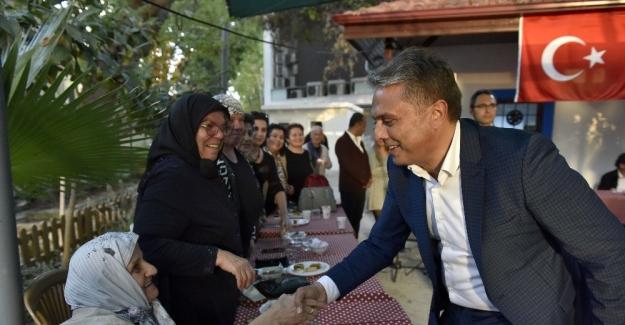 Başkan Uysal, vatandaşlarla buluştu