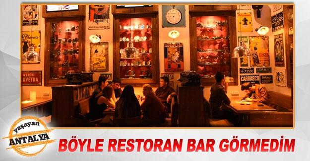 Böyle restoran bar görmedim