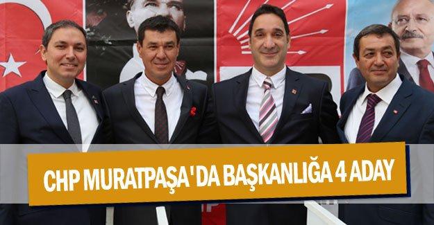 CHP Muratpaşa'da Başkanlığa 4 aday