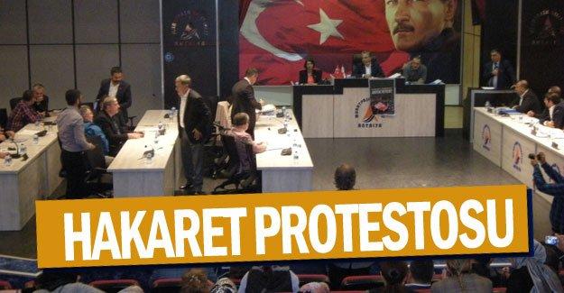 Hakaret protestosu