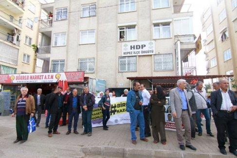 HDP'den protesto