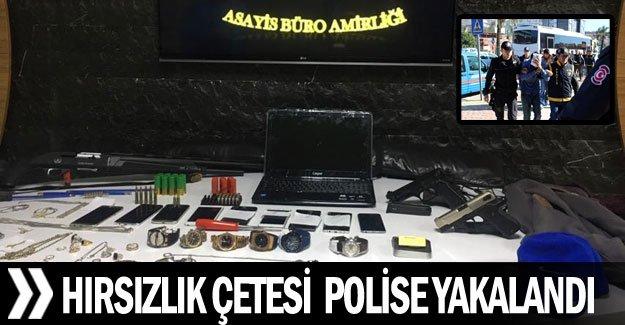 Hırsızlık çetesi  Polise yakalandı