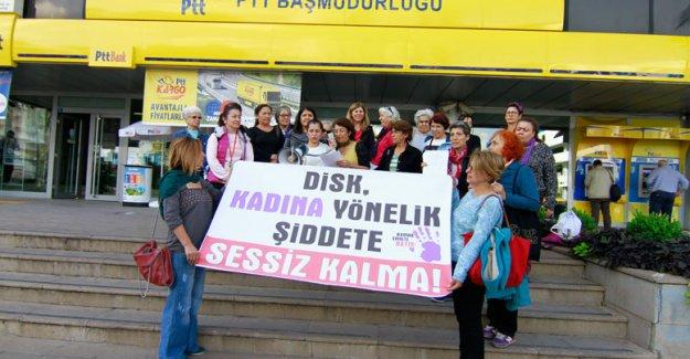 Kadınlardan protesto
