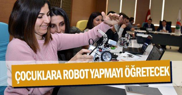 Kepez Belediyesi çocuklara robot yapmayı öğretecek