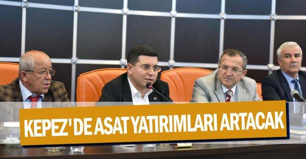 Kepez'de ASAT yatırımları artacak