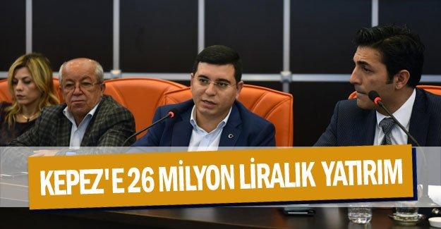 Kepez'e 26 milyon liralık elektrik yatırımı