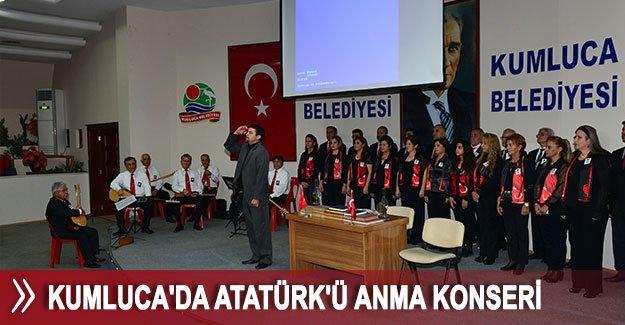 Kumluca'da Atatürk'ü Anma Konseri