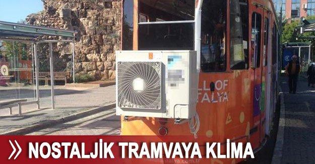 Nostaljik tramvaya klima