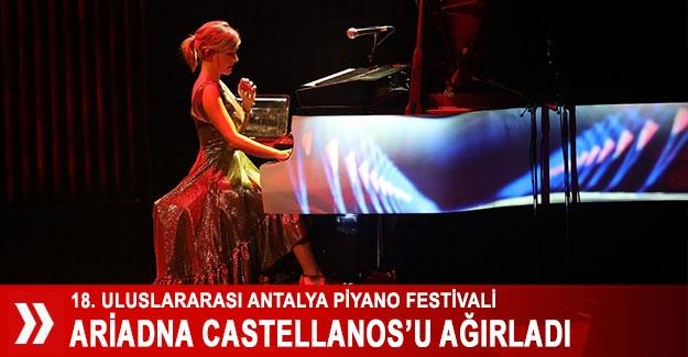 Piyano Festivali Ariadna Castellanos'u ağırladı